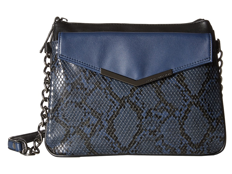 French Connection - Lenny Crossbody (Phantom Lamb PU/Snake) Cross Body Handbags