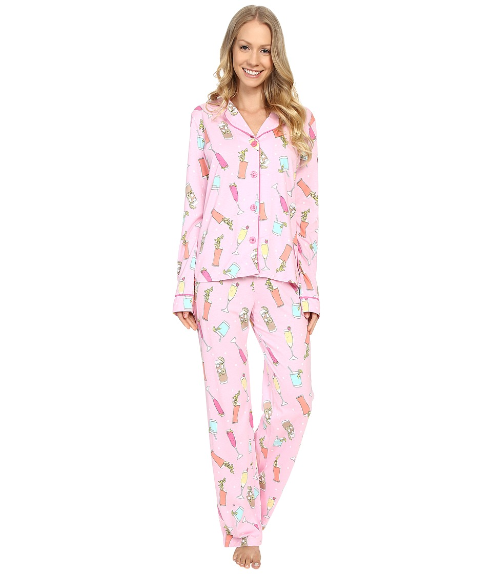 P.J. Salvage - Cheers! PJ Set (Pink) Women's Pajama Sets