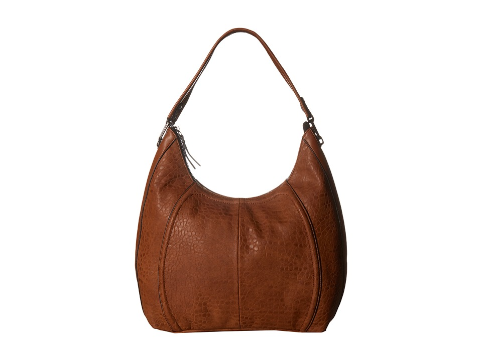 French Connection - Nora Hobo (Nutmeg Bubble PU) Hobo Handbags
