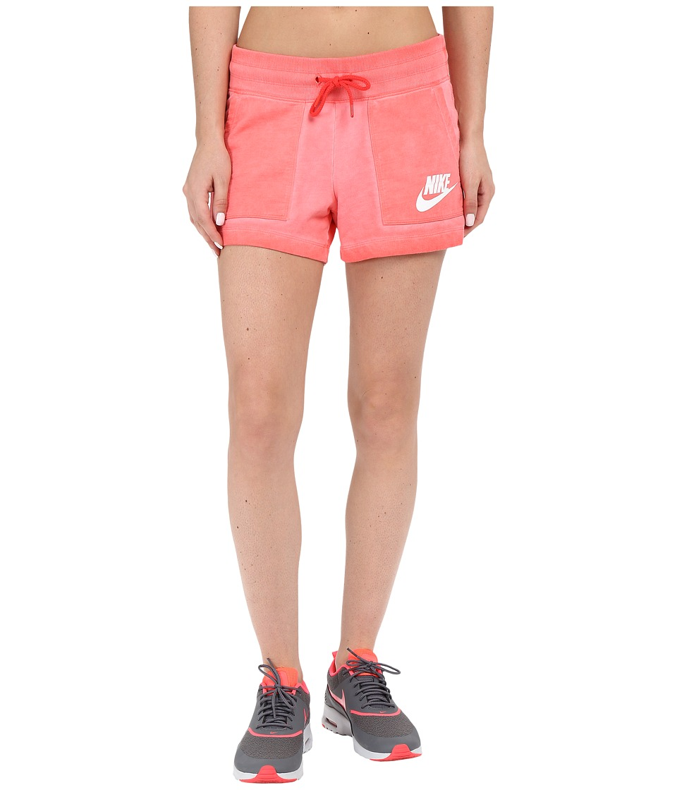 Nike - Wash Shorts (Light Crimson/White) Women's Shorts