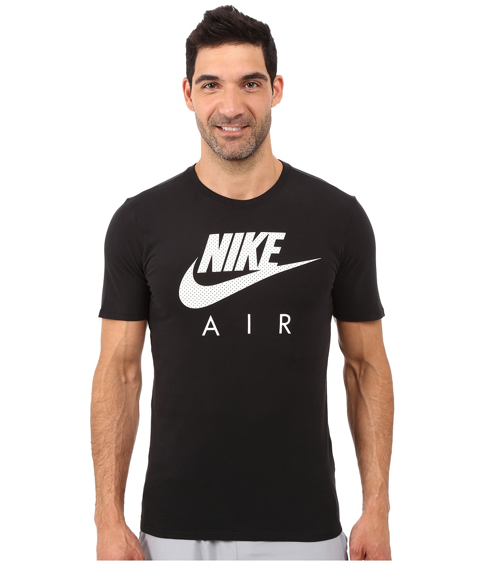 Nike - Air Heritage Tee (Black/White) Men