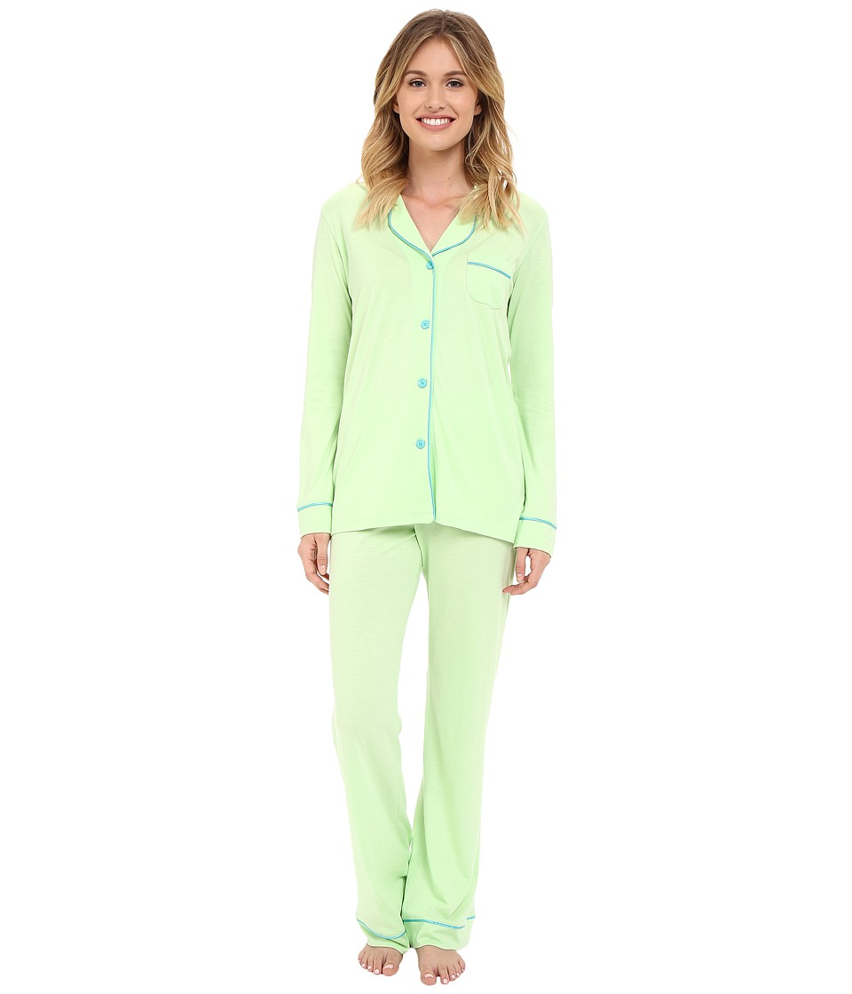 Cosabella - Bella PJ (Paradise Green/Blue Mediterraneo) Women's Pajama Sets