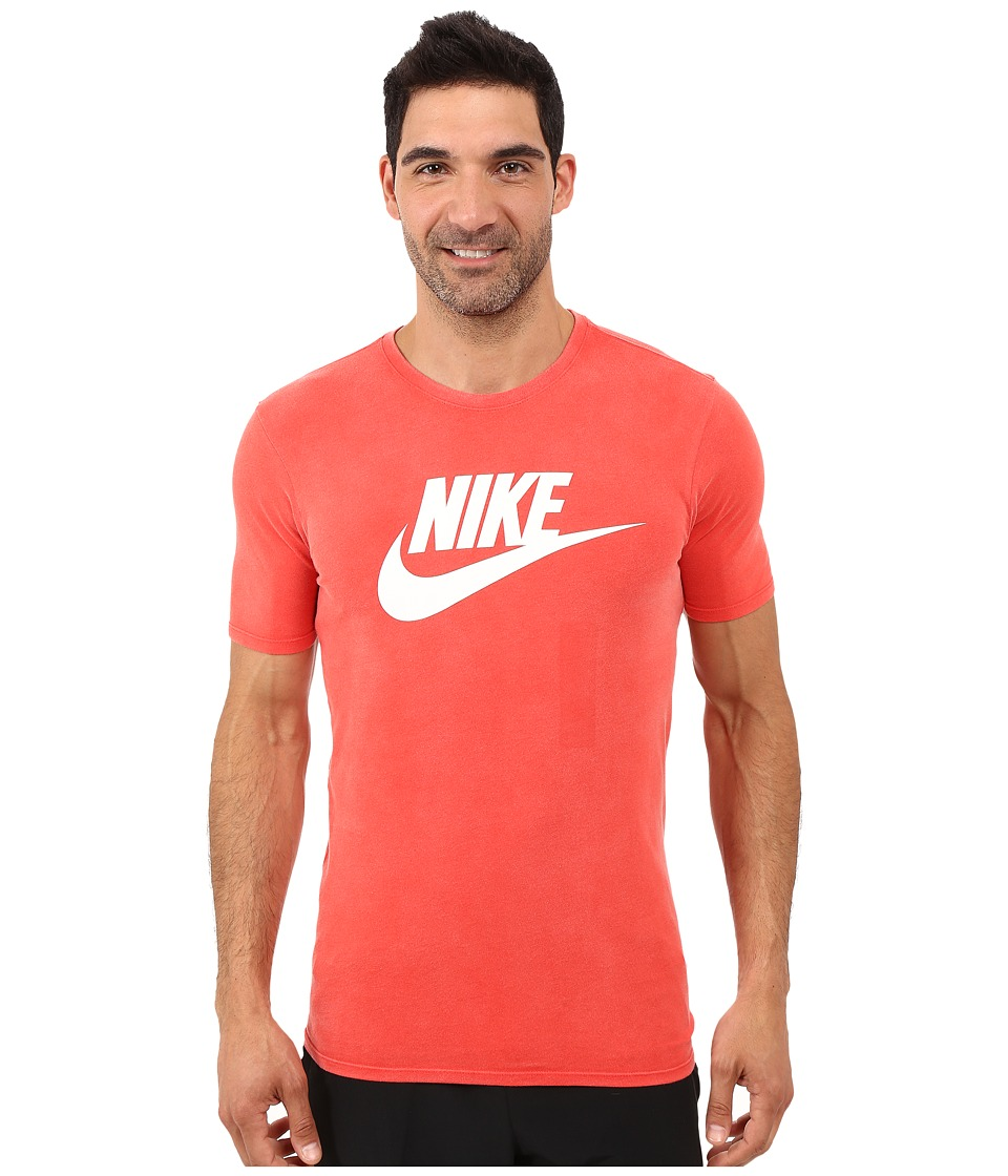 Nike - Solstice Futura Tee (Light Crimson/Light Crimson/White) Men's T Shirt