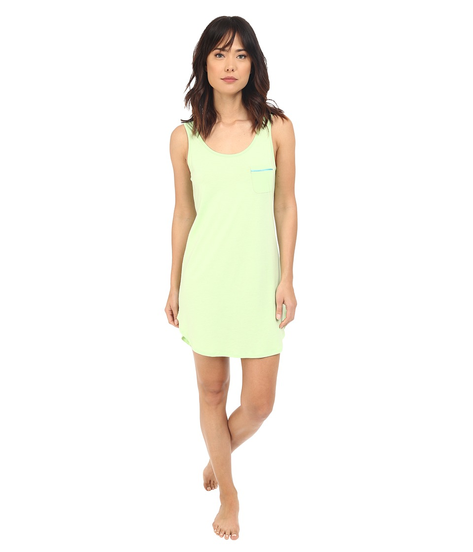 Cosabella - Bella Tank Sleep Shirt AMORE2721 (Paradise Green/Blue Mediterraneo) Women