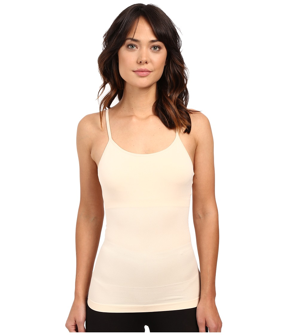 Yummie by Heather Thomson - Amelia Seamlessly Shaped Nylon Everyday Shelf Camisole (Nude) Women's Sleeveless