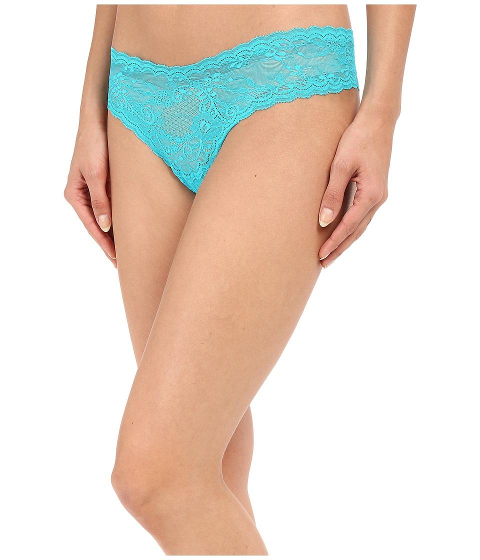 Cosabella - Trenta Lowrider Thong (Blue Mediterraneo) Women's Underwear