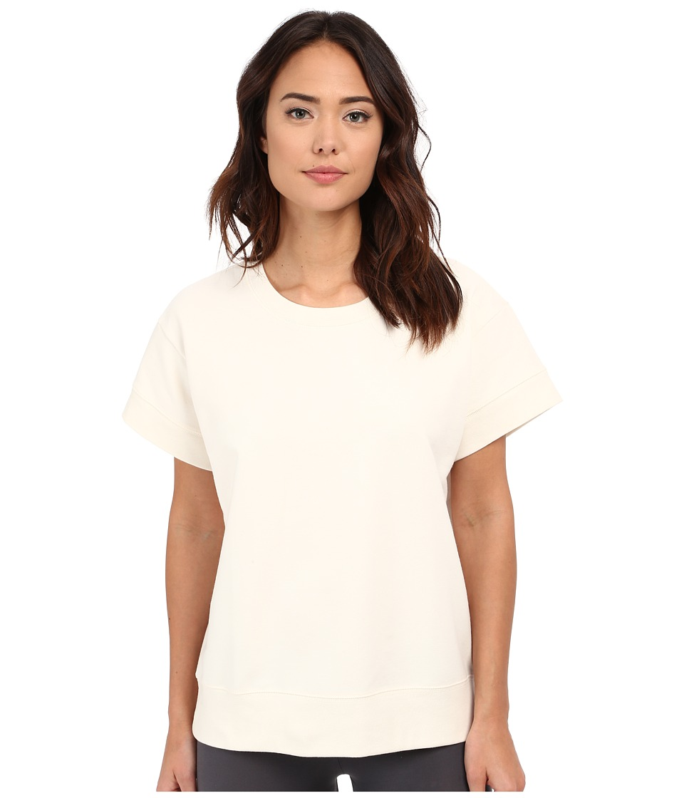 Yummie - Baby French Terry Boxy Tee (Cream) Women's T Shirt