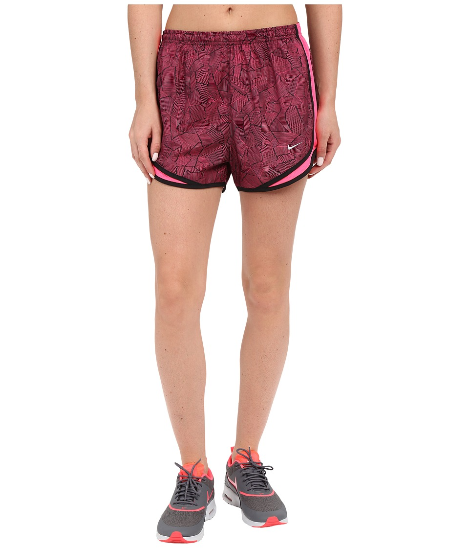 Nike - Canopy Tempo Shorts (Hyper Pink/Black/Reflective Silver) Women's Shorts