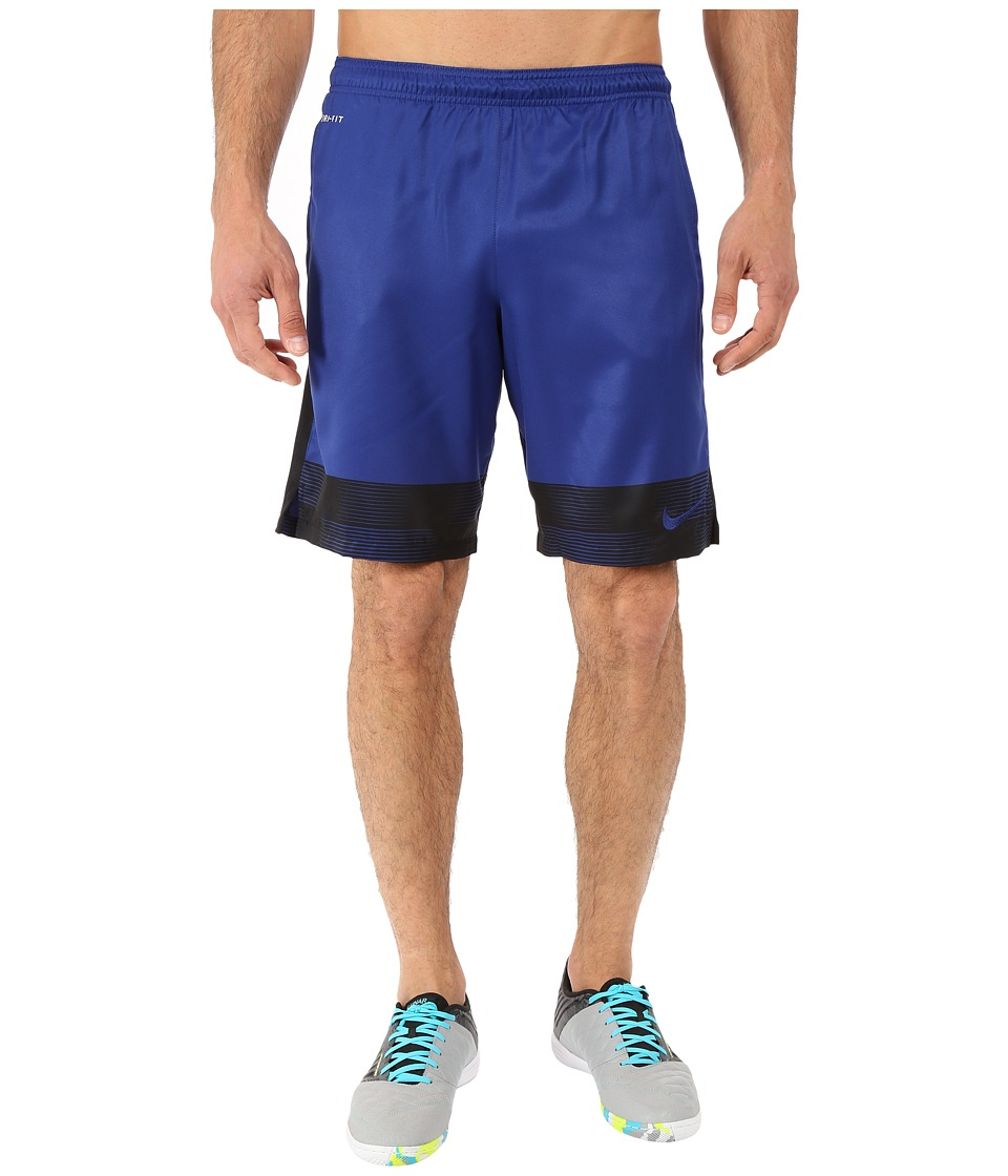 Nike - Strike Printed Graphic Woven 2 Soccer Short (Deep Royal Blue) Men's Shorts