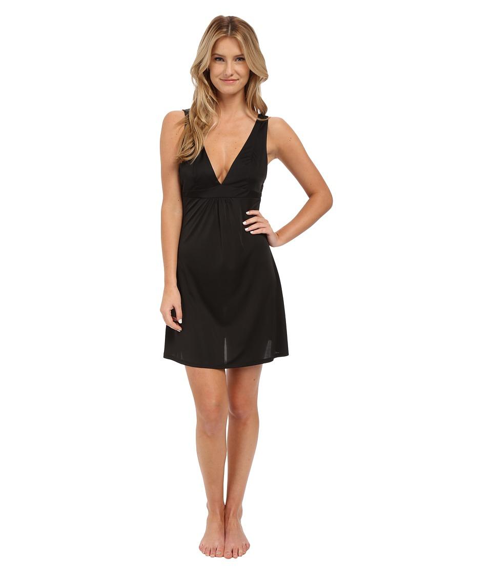 Natori - Aphrodite Chemise (Black) Women's Pajama