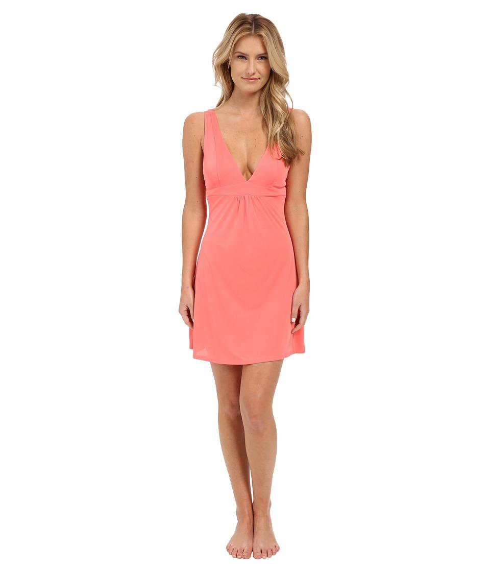 Natori - Aphrodite Chemise (Coral Pink) Women's Pajama