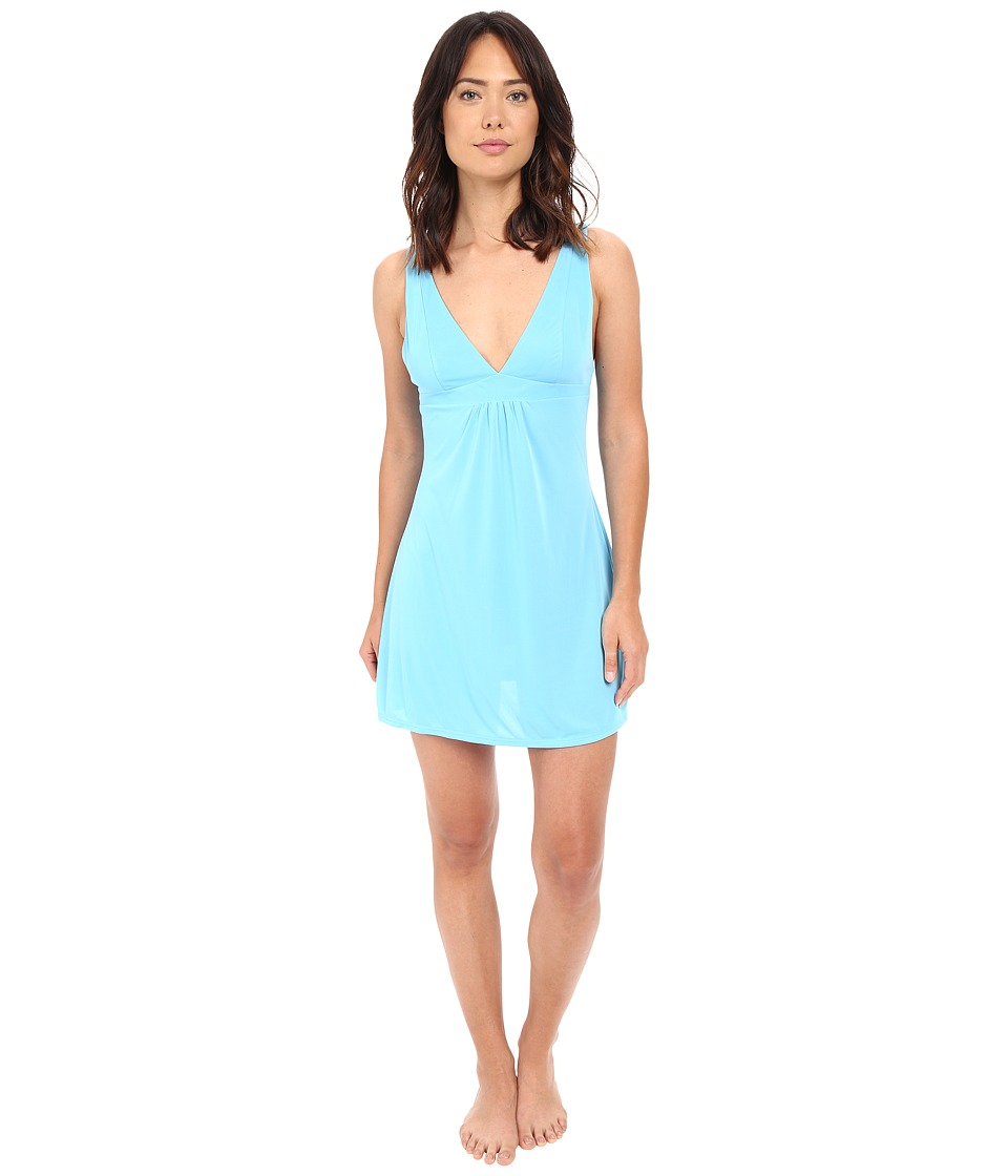 Natori - Aphrodite Chemise (Mirage Blue) Women's Pajama