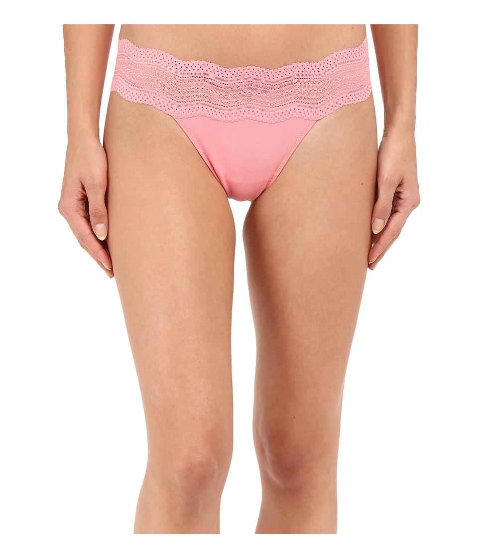 Cosabella - Dolce Lowrider Thong (Geranium Pink) Women's Underwear