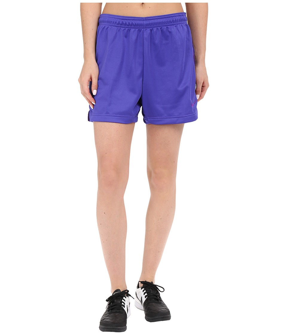 Nike - Dri-FIT Academy Knit Shorts (Persian Violet/Court Purple/Court Purple) Women's Shorts