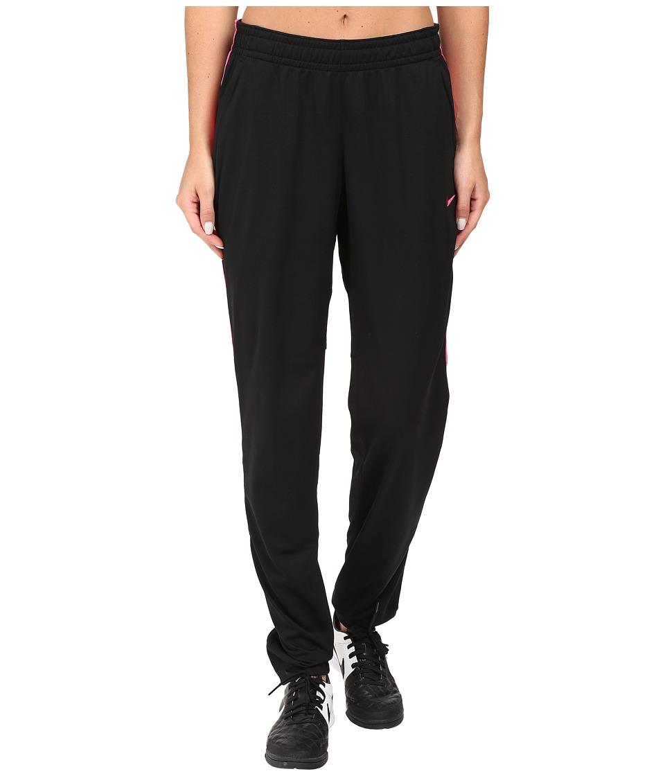 Nike - Academy Knit Soccer Pant (Black/Vivid Pink/Vivid Pink) Women's Casual Pants