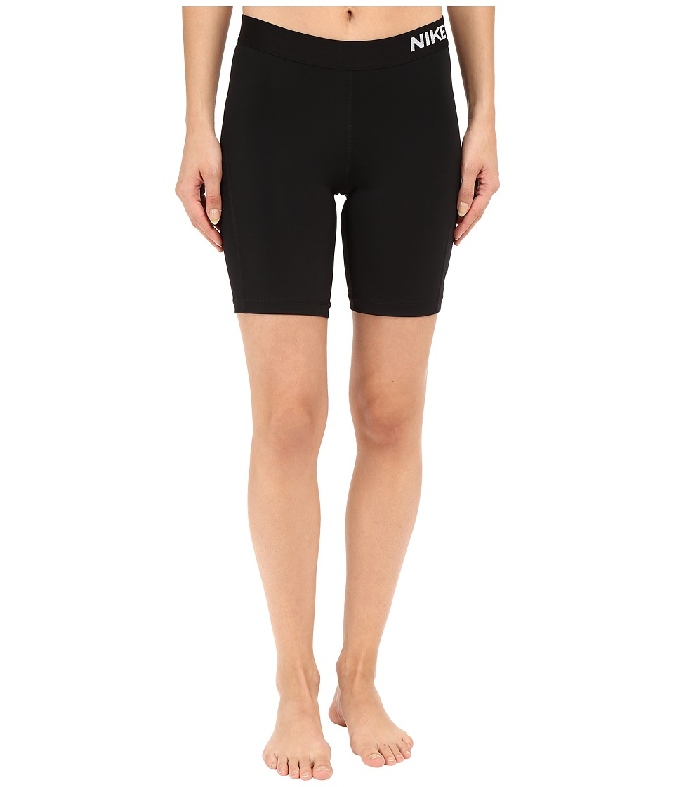 Nike - Pro 7 Cool Training Short (Black/White) Women's Shorts