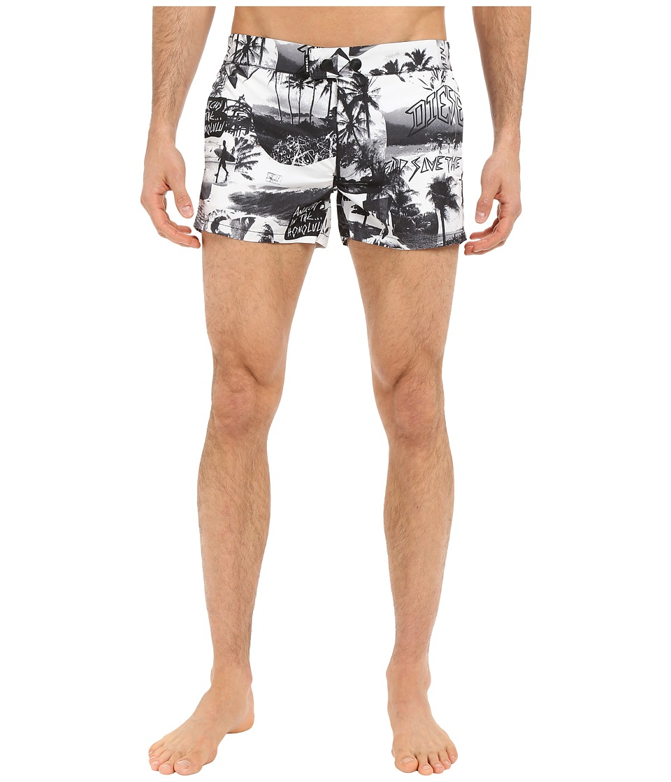 Diesel - Chi-Sandy-S Shorts TAKC (White) Men's Swimwear
