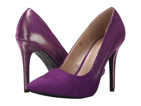 C Label - Liberty-20 (Purple/Silver) High Heels