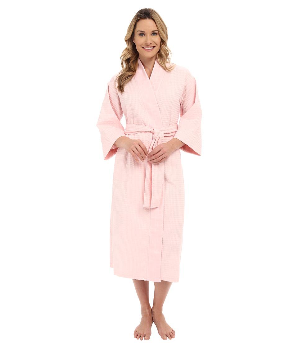 Natori - Waffle Robe (Blush Pink) Women's Robe