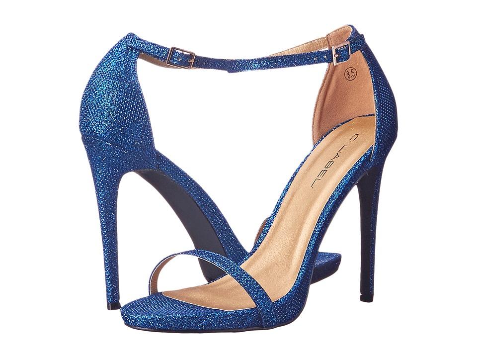 C Label - Napoli-25 (Royal Blue) High Heels