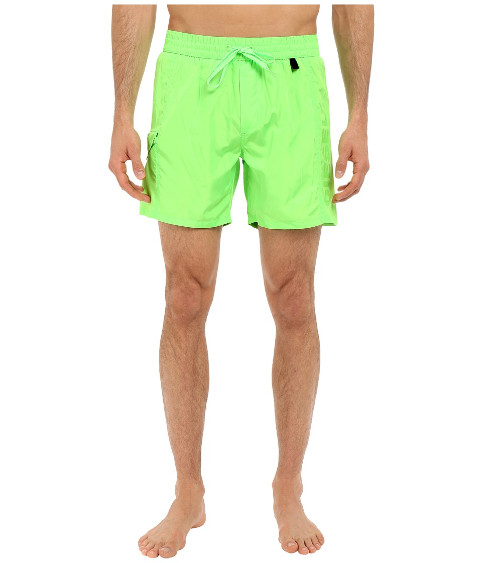 Diesel - Wave-E Shorts KAKV (Lime/Green) Men's Swimwear