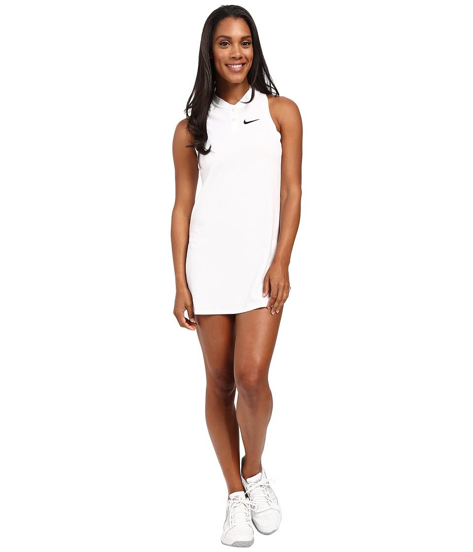 Nike Court Premier Slam Tennis Dress (White) Women