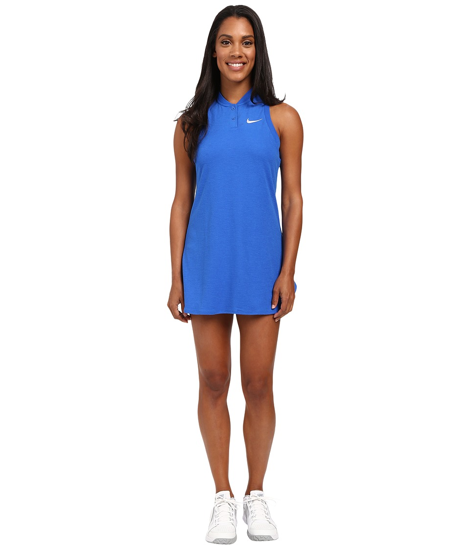 Nike - Court Premier Slam Tennis Dress (Hyper Cobalt) Women's Dress