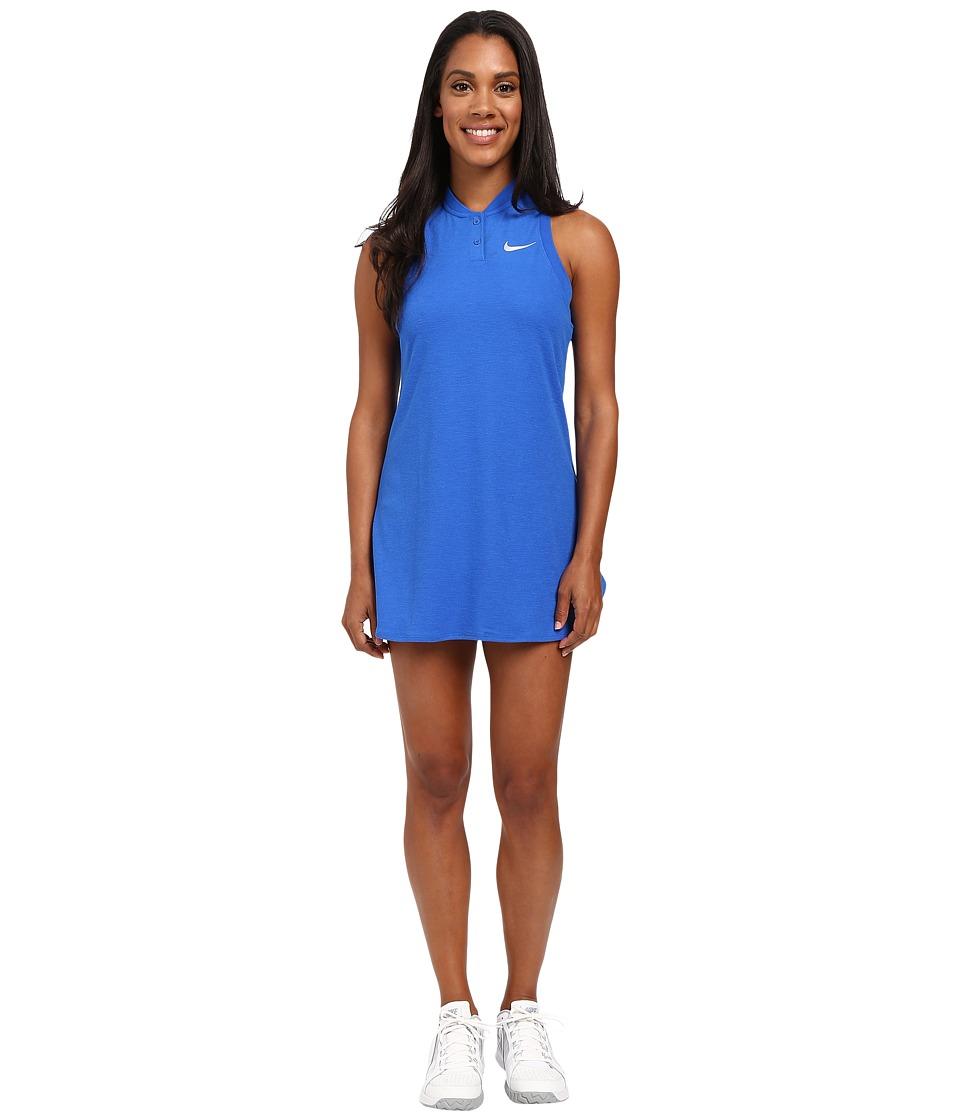Nike - Court Premier Slam Tennis Dress (Hyper Cobalt) Women's Dress