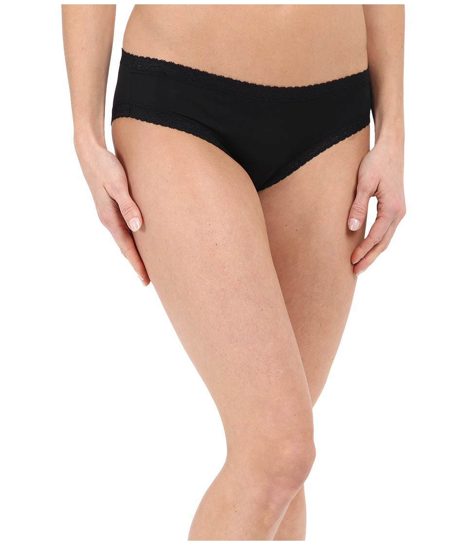 Yummie by Heather Thomson - Marnie Micro Modal Comfort Lace Hipster (Black) Women's Underwear