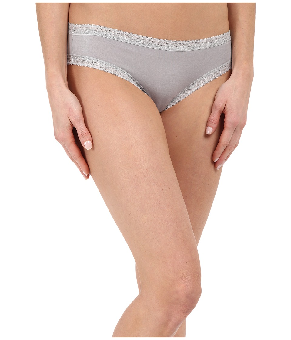 Yummie by Heather Thomson - Marnie Micro Modal Comfort Lace Hipster (Silver Sconce) Women's Underwear