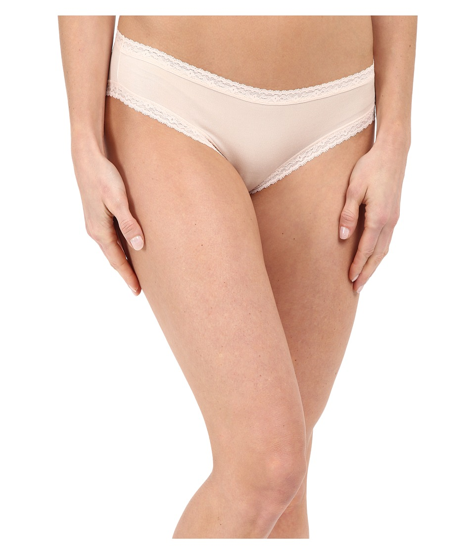 Yummie by Heather Thomson - Marnie Micro Modal Comfort Lace Hipster (Soft Pink) Women's Underwear