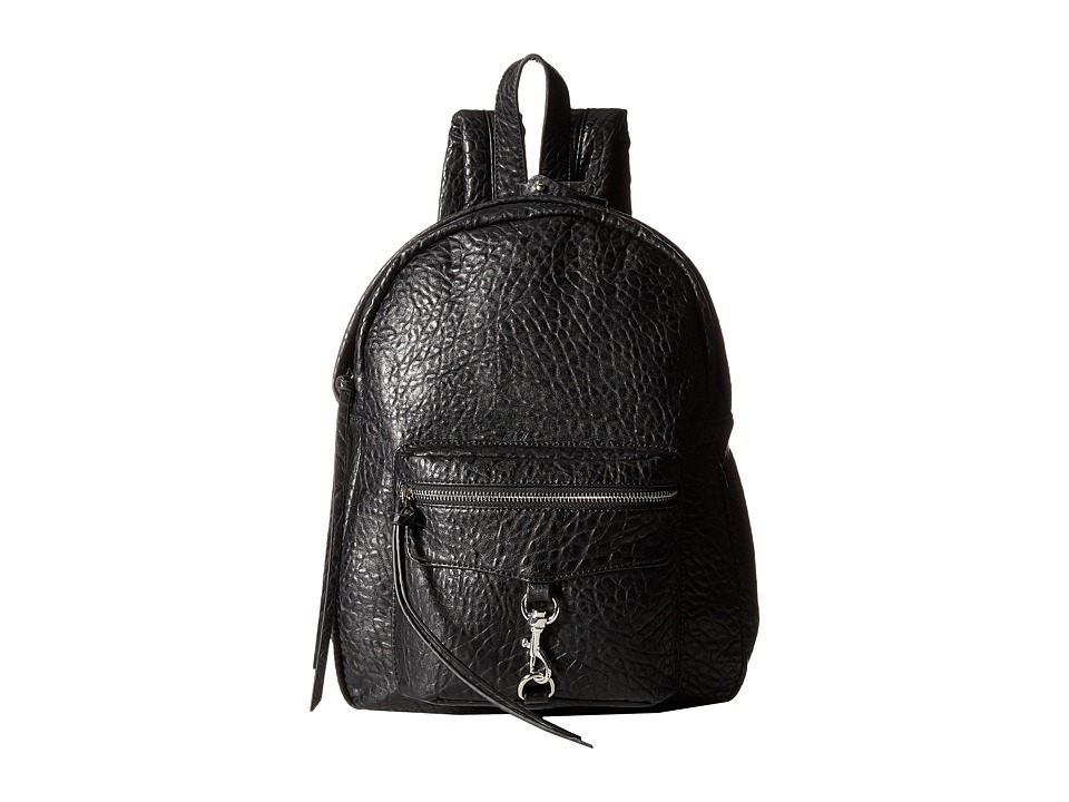 Gabriella Rocha - Paisley Backpack with Front Pocket (Black) Backpack Bags