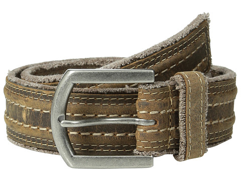 Bed Stu - Capitol (Tan Greenland) Men's Belts