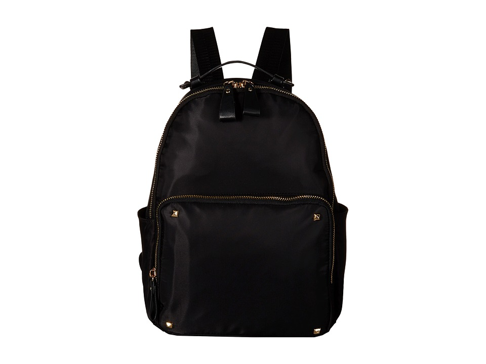 Gabriella Rocha - Lauren Pocketed Backpack with Studs (Black) Backpack Bags