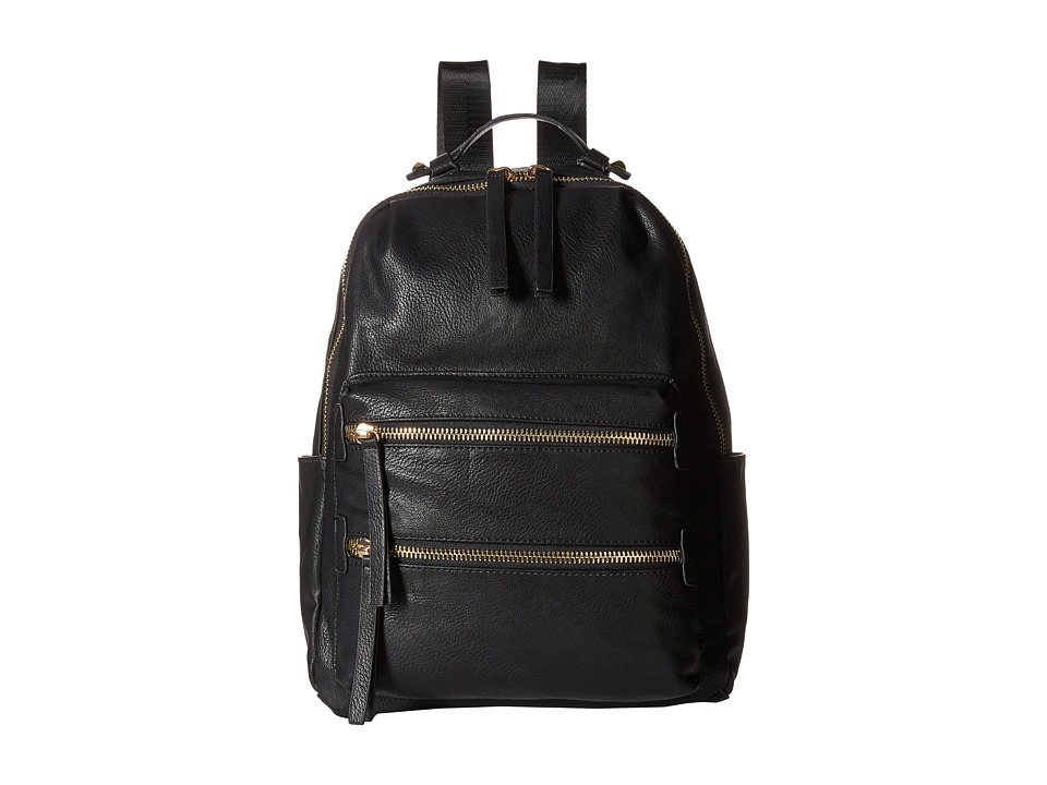 Gabriella Rocha - Alexandra Double Zipper Backpack (Black) Backpack Bags