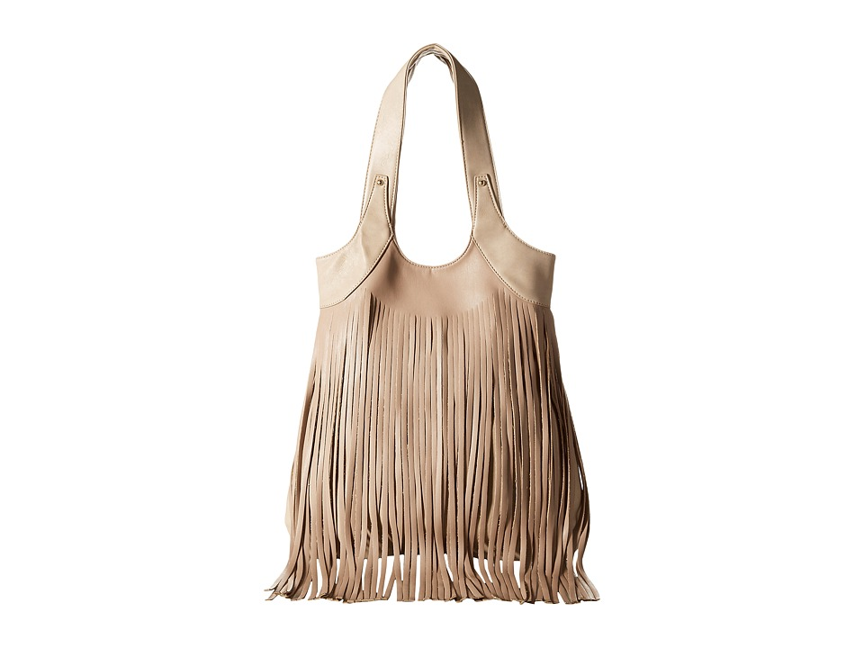 Gabriella Rocha - Ellie Fringe Purse (Taupe) Handbags