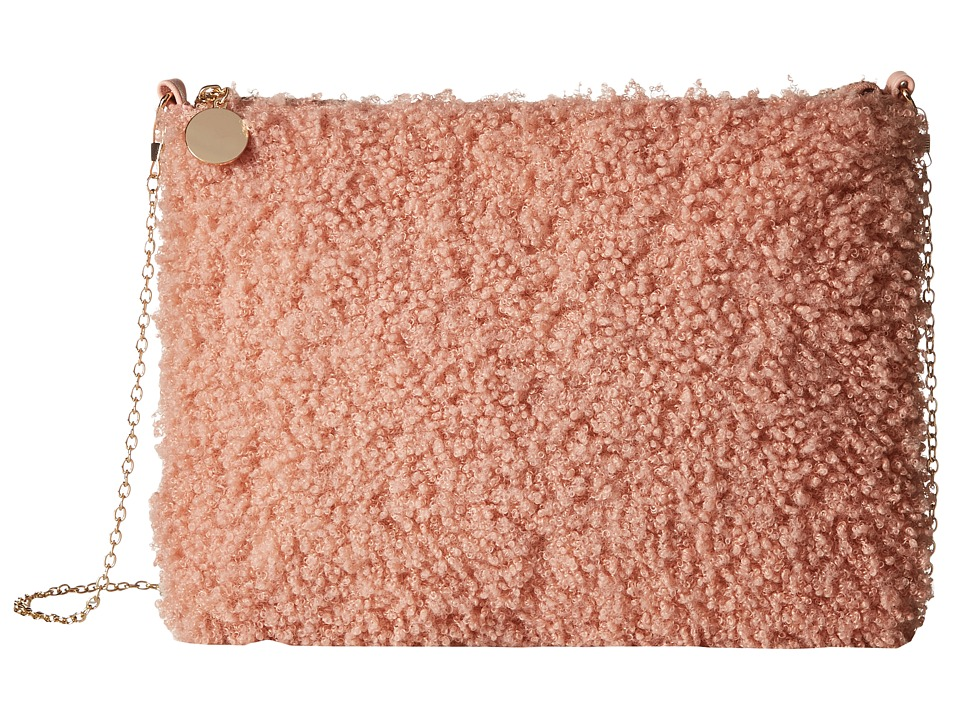 Gabriella Rocha - Delilah Fuzzy Purse (Light Pink) Cross Body Handbags