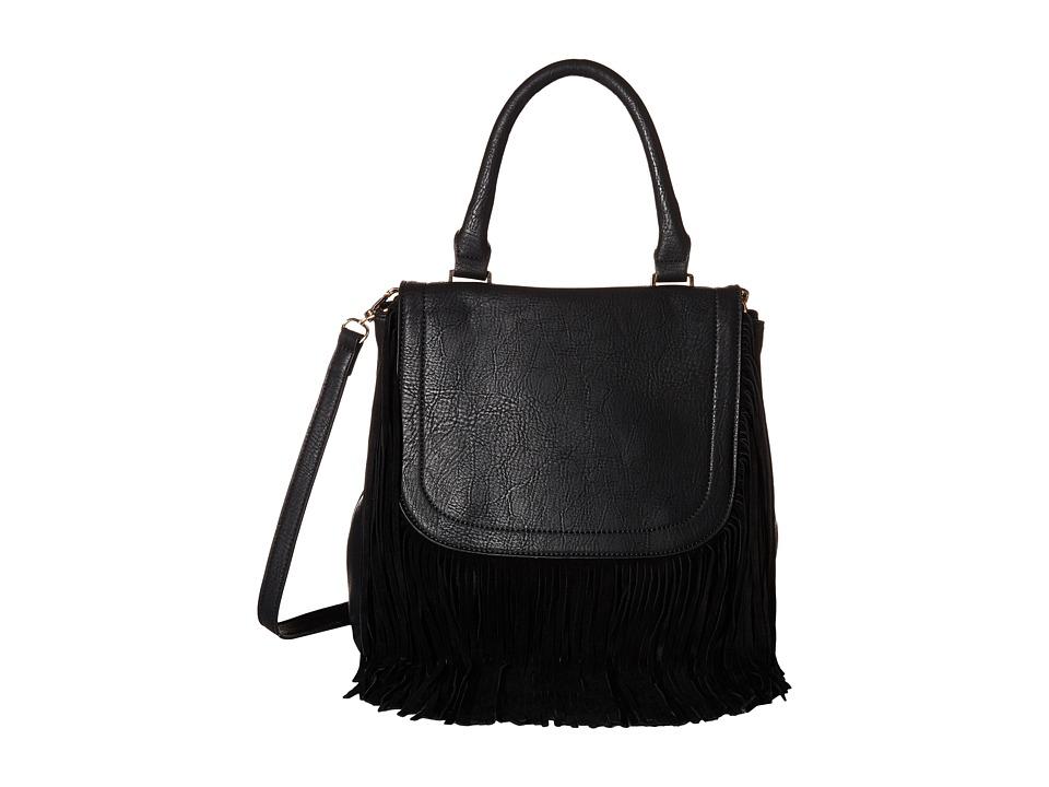 Gabriella Rocha - Hadley Fringe Purse (Black) Handbags