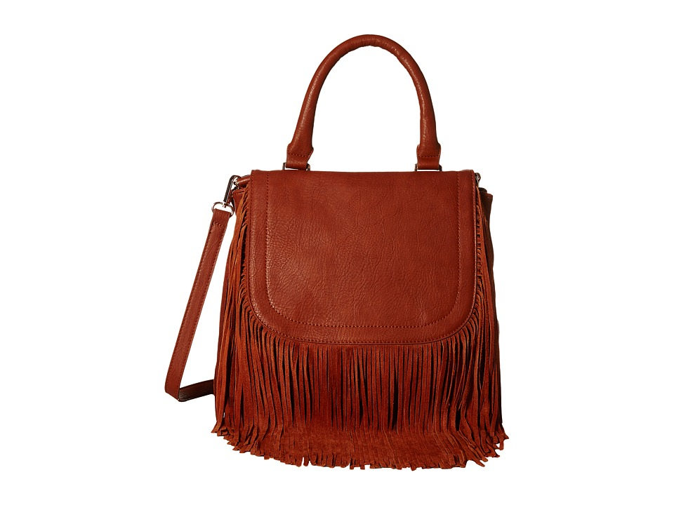 Gabriella Rocha - Hadley Fringe Purse (Tan) Handbags