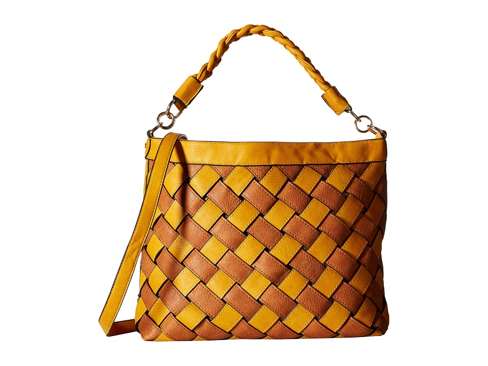 Gabriella Rocha - Jasmine Weaved Purse (Mustard) Handbags