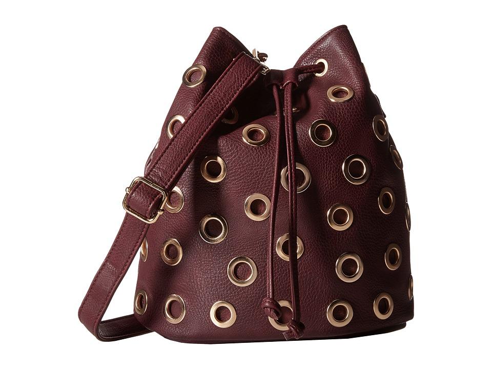 Gabriella Rocha - Rochelle Cut Out Purse (Plum) Handbags
