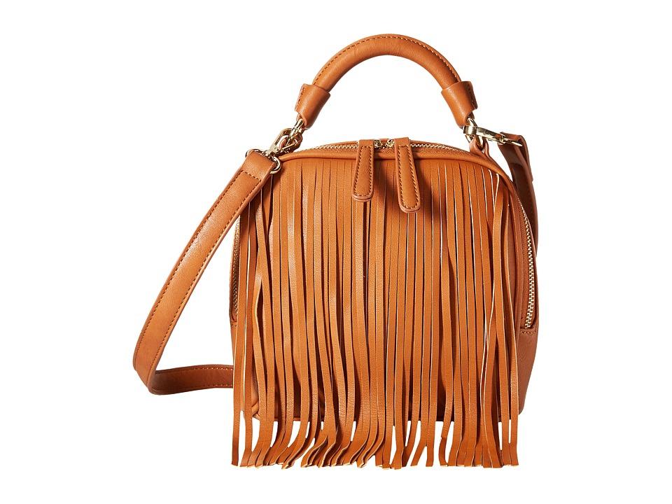 Gabriella Rocha - Payton Fringe Purse (Camel) Handbags