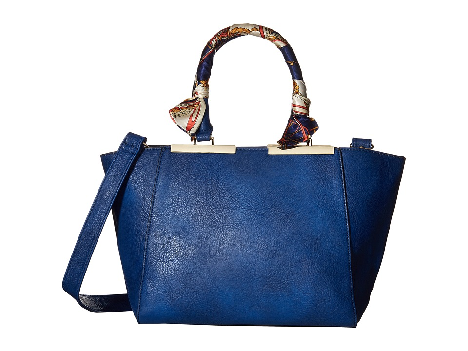 Gabriella Rocha - Kennedy Purse with Scarf Handle (Blue) Handbags