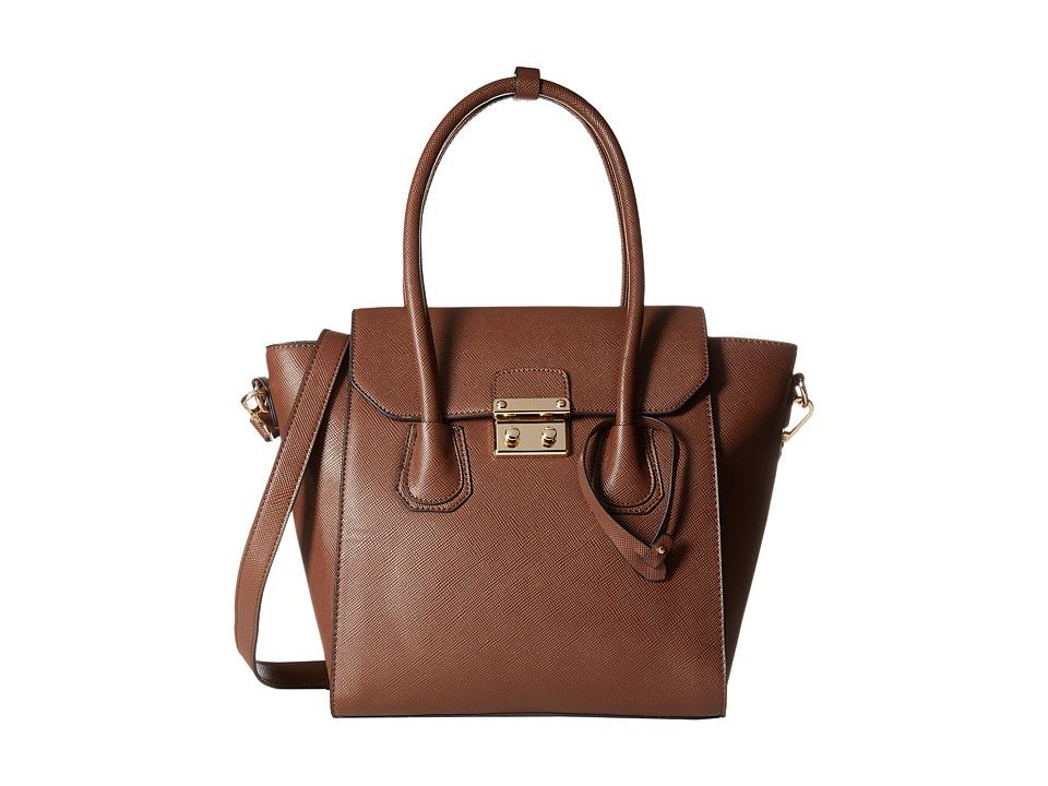 Gabriella Rocha - Lydia Purse (Chocolate) Satchel Handbags