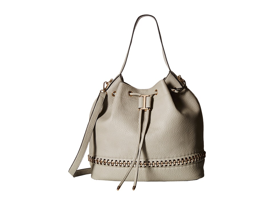 Gabriella Rocha - Maya Bucket Purse (Grey) Cross Body Handbags