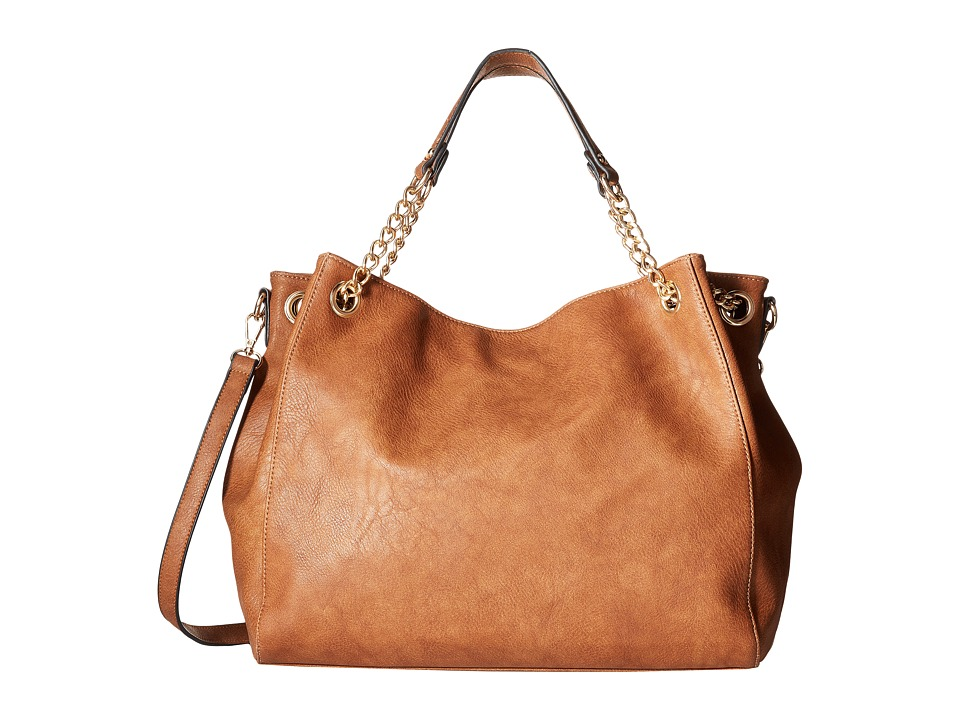 Gabriella Rocha - Audrey Purse with Chain Handle (Brown) Handbags