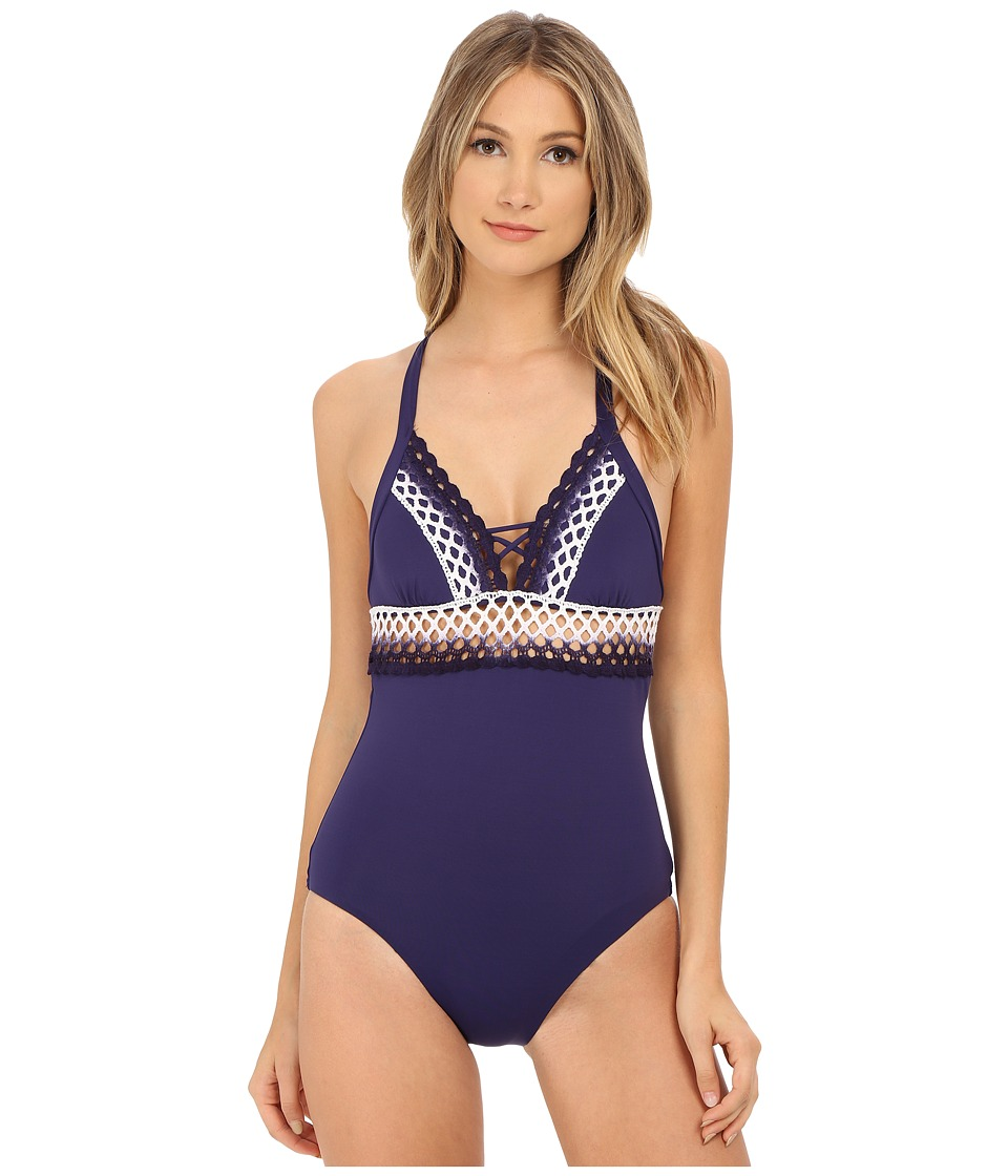 BECCA by Rebecca Virtue - Sunrise Midnight One-Piece (Ink) Women's Swimsuits One Piece