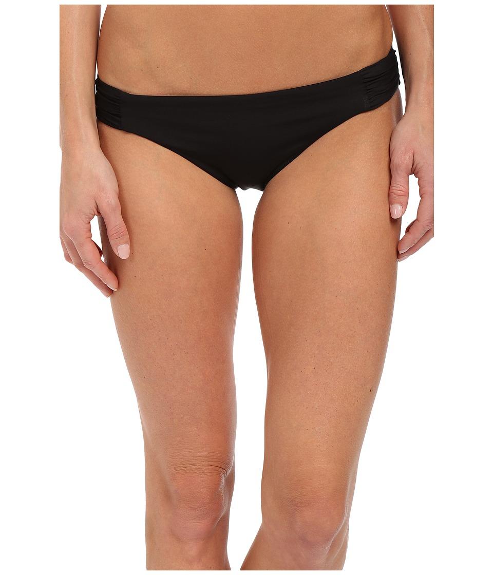 BECCA by Rebecca Virtue - Color Code Tab American Bottom (Black) Women's Swimwear