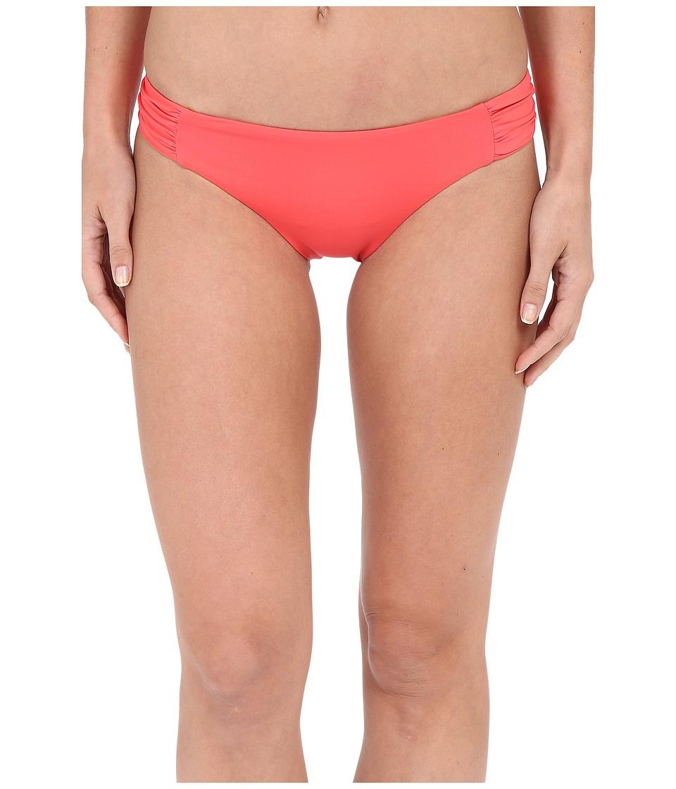BECCA by Rebecca Virtue - Color Code Tab American Bottom (Papaya) Women's Swimwear