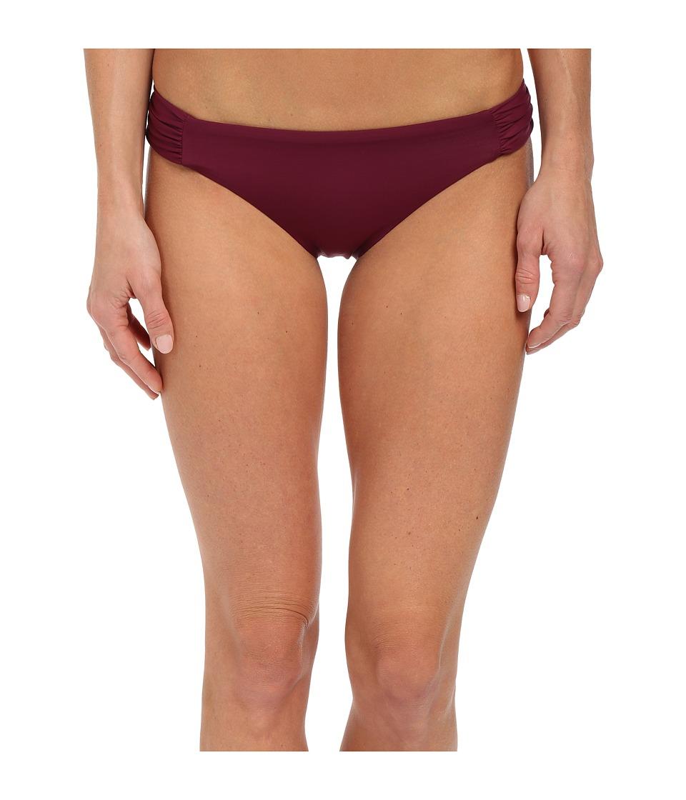BECCA by Rebecca Virtue - Color Code Tab American Bottom (Marsala) Women's Swimwear